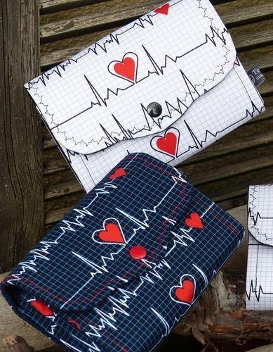"Makerist - Geldbörse ""Ms.Monibag"" im EKG Stiel - Nähprojekte - 1"