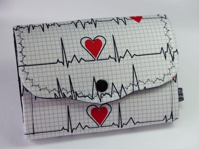 "Makerist - Geldbörse ""Ms.Monibag"" im EKG Stiel - Nähprojekte - 3"