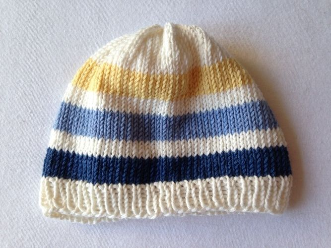 Makerist - Babyjäckchen mit passender Mütze für kleine Jungs in Gr. 50/56 - Strickprojekte - 2