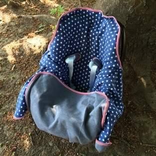 Makerist - Decke für Babys im Autositz - 1