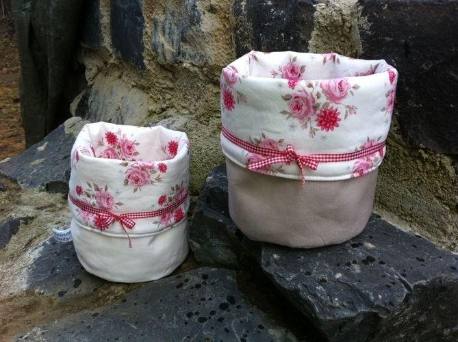 Makerist - Stoffkorb und Utensilo - Nähprojekte - 1