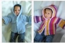 Makerist - Babyjacke mit Kapuze - 1
