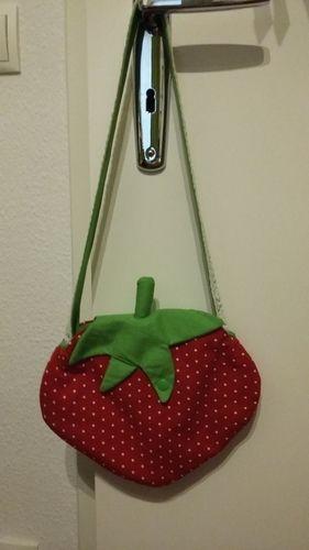 Makerist - Erdbeer-Tasche  - Nähprojekte - 1