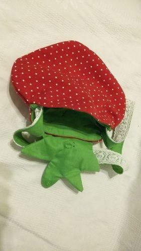 Makerist - Erdbeer-Tasche  - Nähprojekte - 3