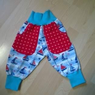 Makerist - Jerseyhose für kleine Seemänner - 1