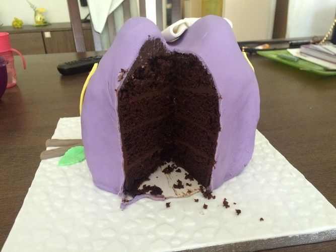 Makerist - 3D Eulen Fondant Torte - Torten, Cake Pops und Cupcakes - 2