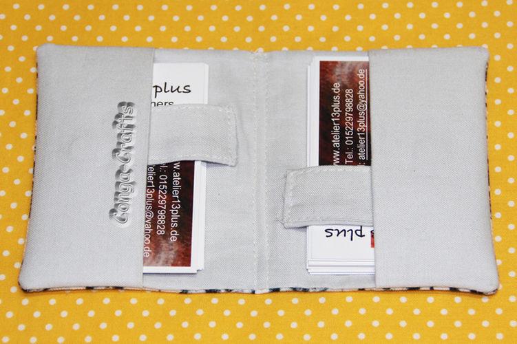 Makerist - Visitenkartenhülle - Nähprojekte - 2