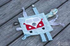 Makerist - Bulli-Knistertuch für meinen Neffen - 1