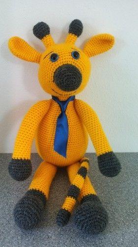 Makerist - Giraffe Sunny - Häkelprojekte - 2