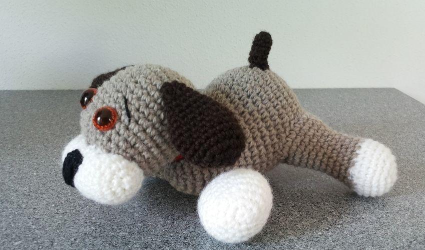 Makerist - Hundebaby - Häkelprojekte - 2