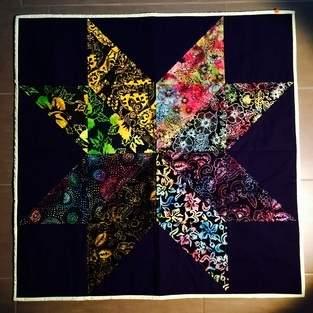Makerist - mein allererster quilt - 1
