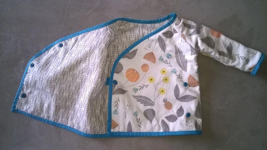 Makerist - Baby-Wickel-Wendejacke - Nähprojekte - 2