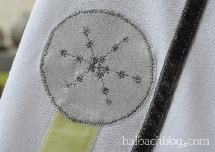 Makerist - T-Shirt selbst gestalten mit Applikation aus Bändern und Stoffen - Nähprojekte - 2