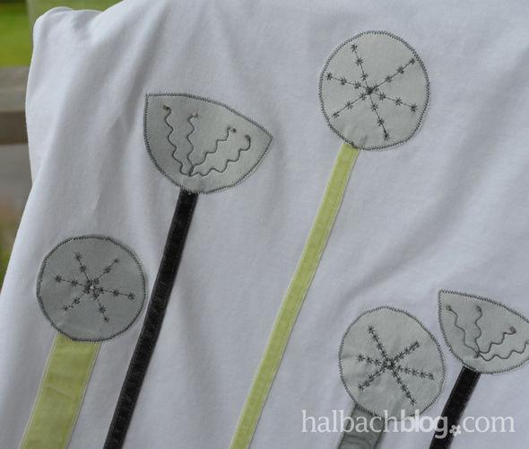 Makerist - T-Shirt selbst gestalten mit Applikation aus Bändern und Stoffen - Nähprojekte - 3