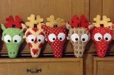 Makerist - Weihnachtselche...oder Hirsche...oder doch rentiere? ;-) - 1