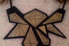 Makerist - Collier de formes géométriques avec coutures - 1