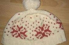 Makerist - Schneeflocken Mütze - 1