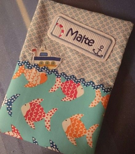 Makerist - Uheft im maritimen Look - Nähprojekte - 1