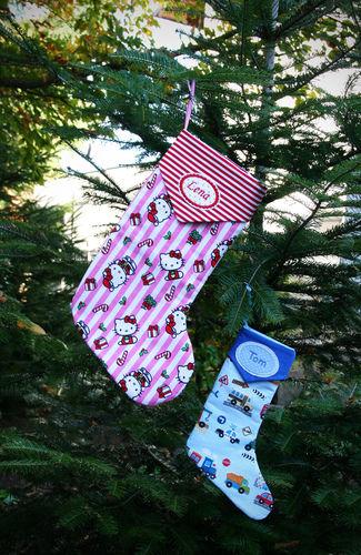 Makerist - Süße Weihnachtsstiefel zum Befüllen :-) - Nähprojekte - 1