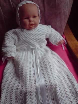 Makerist - robe de baptême - 1