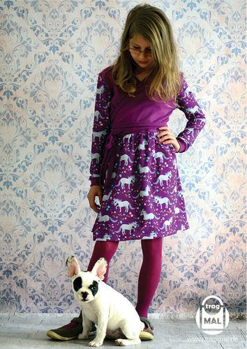 Makerist - Freebook Wickelkleid SELKIE für Mädchen - Nähprojekte - 2