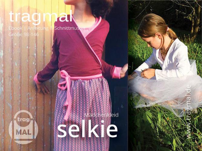 Makerist - Freebook Wickelkleid SELKIE für Mädchen - Nähprojekte - 3