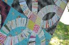 Makerist - Double Wedding Ring Quilt - 1