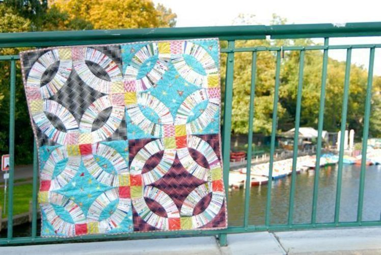 Makerist - Double Wedding Ring Quilt - Patchwork-Projekte - 3