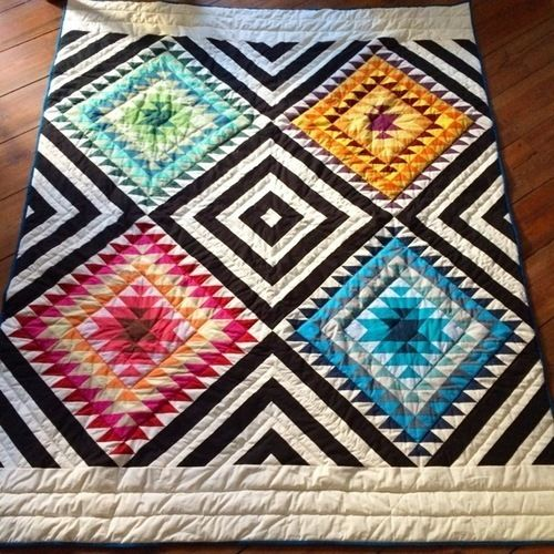 Makerist - South-West inspirierter Quilt - Patchwork-Projekte - 1