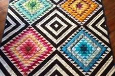 Makerist - South-West inspirierter Quilt - 1