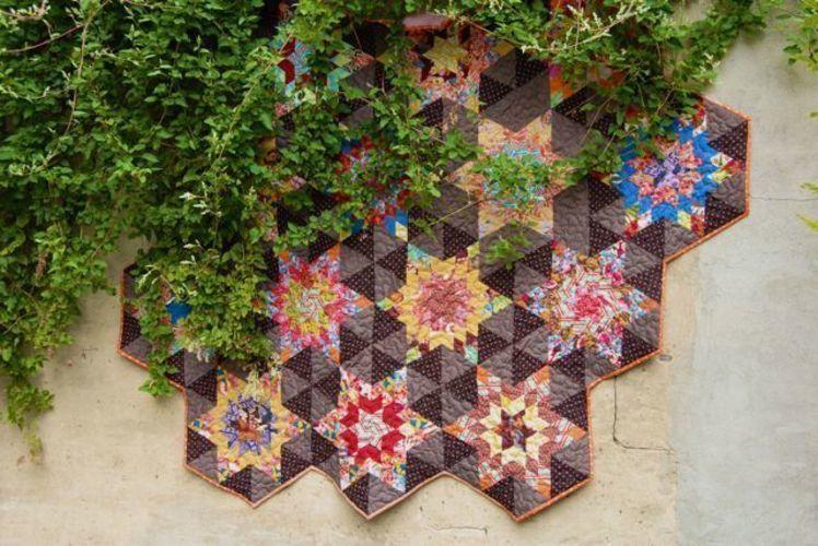 Makerist - Quilt in aussergewöhnlicher Form - Patchwork-Projekte - 1