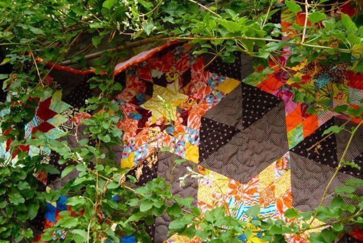 Makerist - Quilt in aussergewöhnlicher Form - Patchwork-Projekte - 3