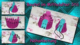 Makerist - Beutel im Mittelalter Stil - 1