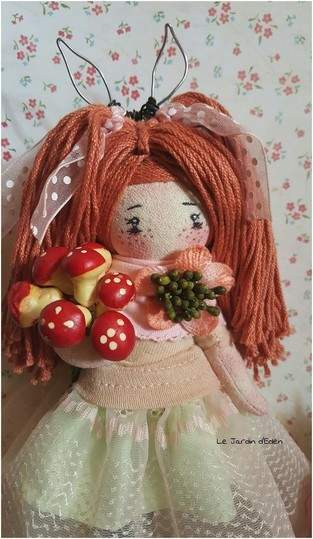 Makerist - Flora mini clothes doll fairy - 1