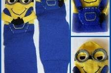 "Makerist - Sofasocken ""Minion"" - 1"