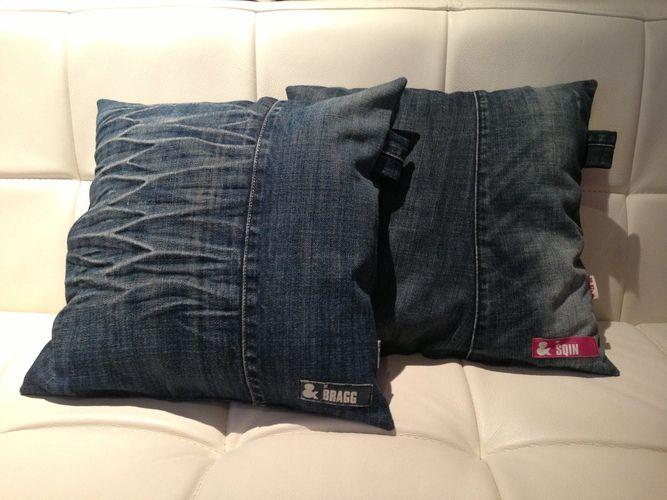 kissen aus jeans naehen, makerist - selbermachen leicht gemacht, Design ideen