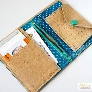 Makerist - Portemonnaie aus Kork - 1