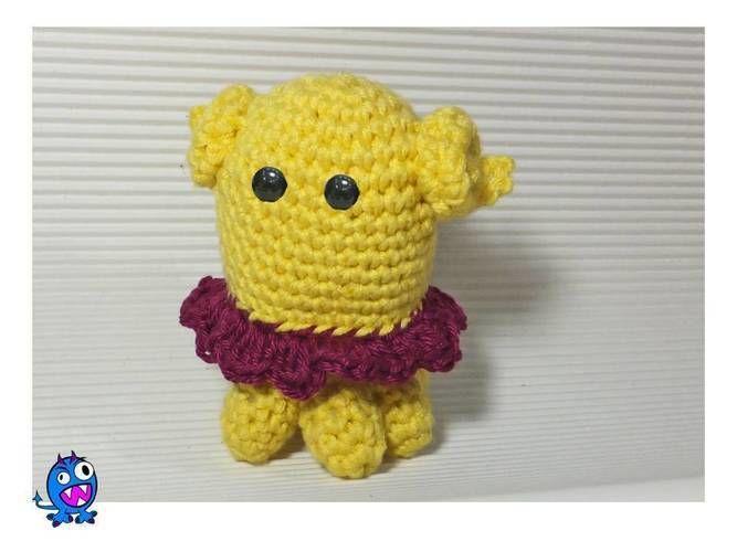 Makerist - kleines Monsterchen - Häkelprojekte - 1