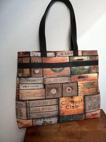 Makerist - Tasche aus Dekostoff - Nähprojekte - 1