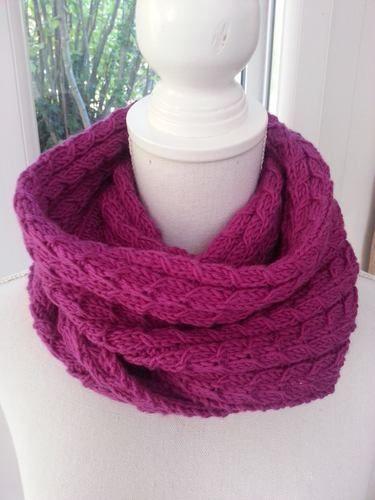 Makerist - Echarpe torsadée en laine mérinos - Créations de tricot - 2