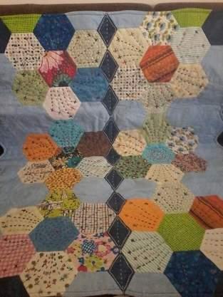 """Makerist - """"Fröhliches Kind """" Hexagon, ein Geschenk für meine Arbeitskollegin - 1"""