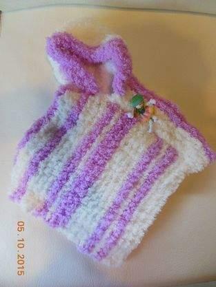 Makerist - poncho bébé - 1