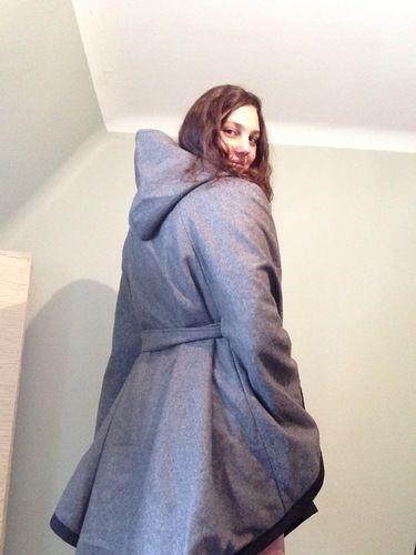 Makerist - Cape d'hiver en laine bouillie - Créations de couture - 3