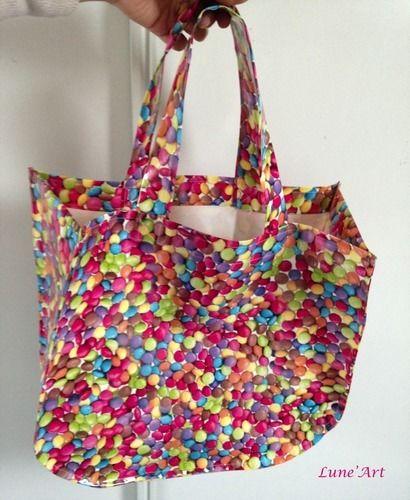 Makerist - Cabas pour les courses - Créations de couture - 1