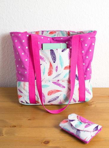 """Makerist - Handtasche """"Svea"""" - Nähprojekte - 1"""