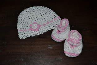 Makerist - Babymütze und -schühchen - 1
