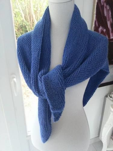 cb2f39898383 Makerist - Châle Trendy en baby alpaga tricoté à la main - Créations de  tricot ...