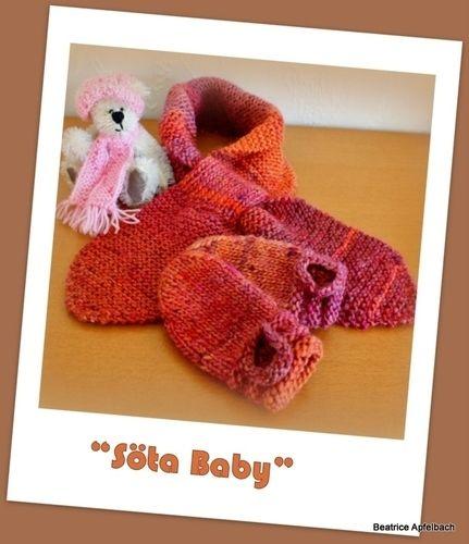 "Makerist - Babyset ""Söta Baby"" Teil 1 - Strickprojekte - 1"