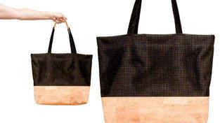Makerist - Shopper »The Black Line Copper & Cork« - 1