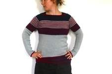 Makerist - (Not So) Low Contrast Pullover - 1
